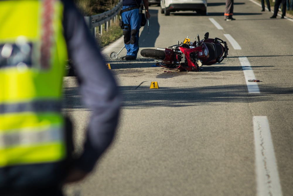 Can You Sue For a Rear-end Motorcycle Collision?